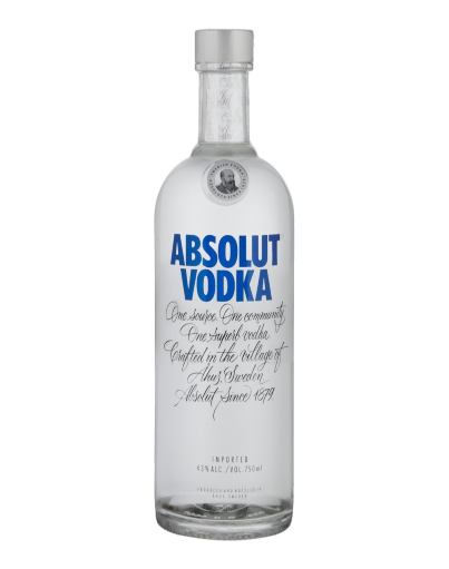 Absolut Spirits Vodka