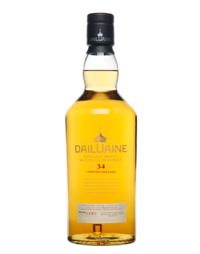 Dailuaine 34 Year Old Scotch