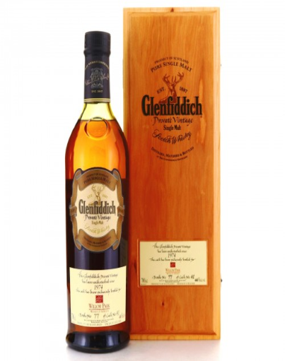 Glenfiddich Vintage 1974 Scotch
