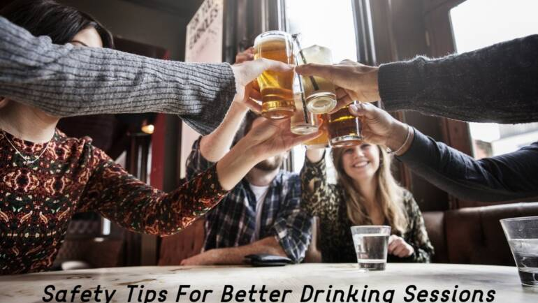 Safety Tips For Better Drinking Sessions | Delivery Liquor Calgary